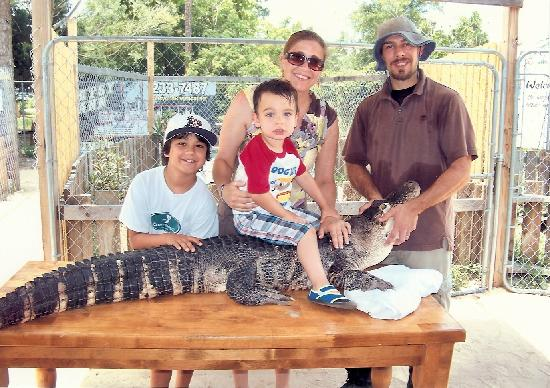 Gator Country Alligator Park: BUBBA -- THE MOST EXTRAORDINARY ALLIGATOR!