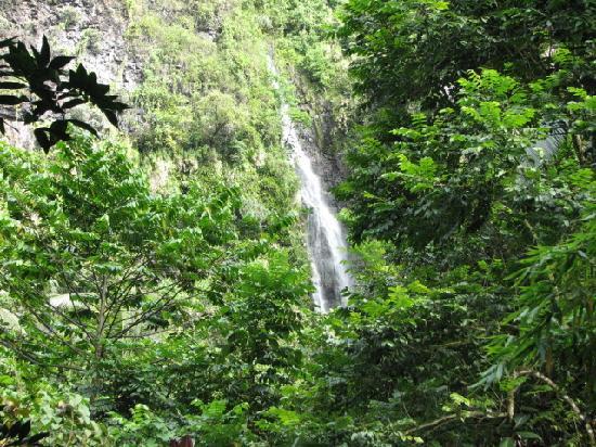 Fautaua Waterfall: The Falls