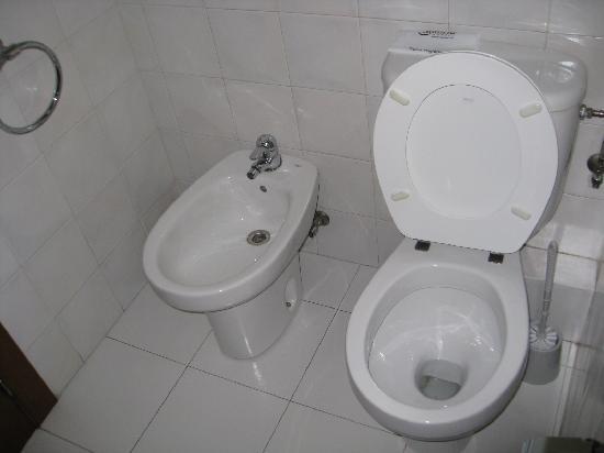 Hotel Tivoli: wc