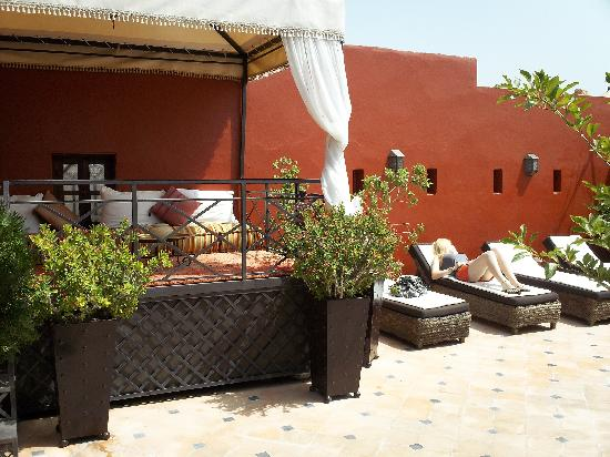 Riad Argan: The roof terrace