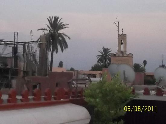 Riad Argan: View from the roof terrace