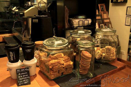 Whanake Gallery & Espresso Bar: Sweet Treats - Mums Baking - Really