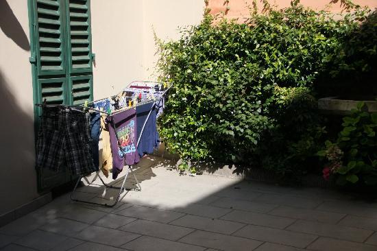 Cimarosa Harmony: patio exterior