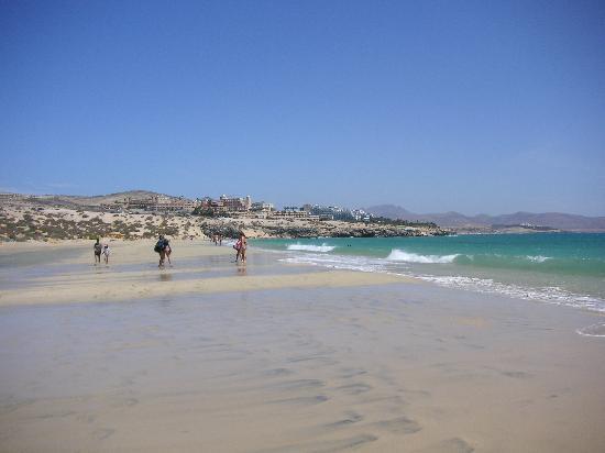 SENTIDO H10 Playa Esmeralda : Vista del hotel desde la playa