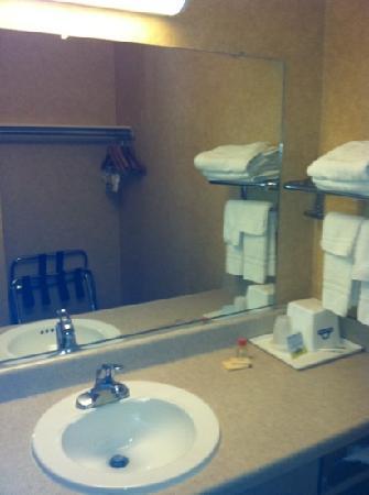 Knights Inn Buena Park/Anaheim: scratchy threadbare towels