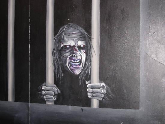Napier Prison Tours: LEMME OUTTA HERE!!!