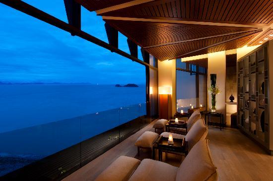 Conrad Koh Samui Resort & Spa: Conrad Koh Samui: Spa Lounge