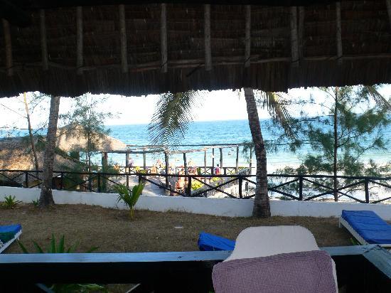 Kilifi Bay Beach Resort: View from room 15