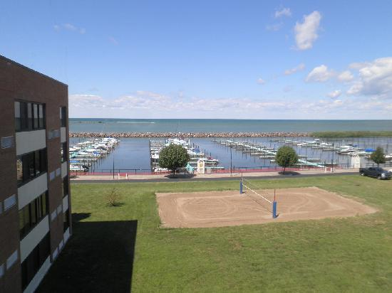 Clarion Hotel Dunkirk View Lake Erie From Our Rm