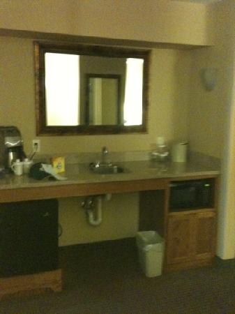 Holiday Inn Stevens Point Convention Center: mini fridge and microwave - convenient