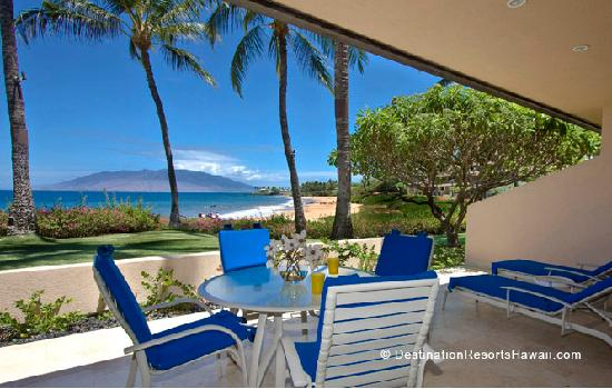 Makena Surf: A perfect spot for enjoying your morning coffee with spectacular views