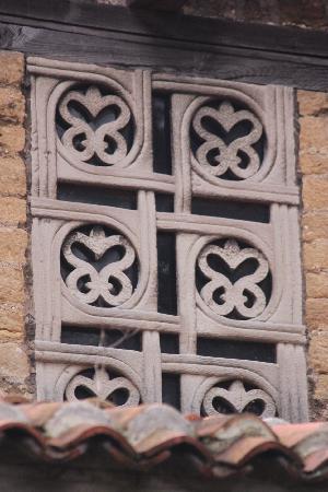 Iglesia de San Julian de los Prados: Detalles de las ventanas