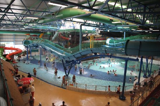 A spacious Water Park containing over 30 rides and slides Picture