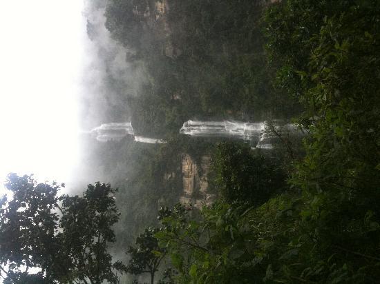 Choachi, Colombia: Cascada La Chorrera