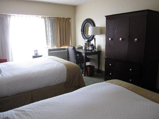 Doubletree by Hilton Hotel New Orleans Airport: Doubletree New Orleans Airport - 2nd floor room