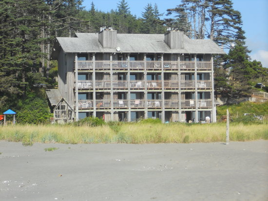 Pacific Beach, WA: our building