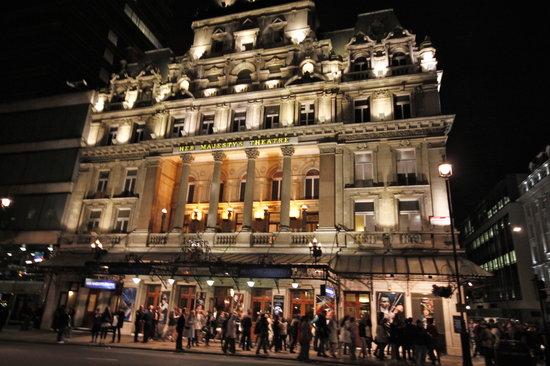Phantom of The Opera London: marquee