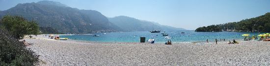 Plage d'Oludeniz (Lagon bleu) : blue lagoon...excellent