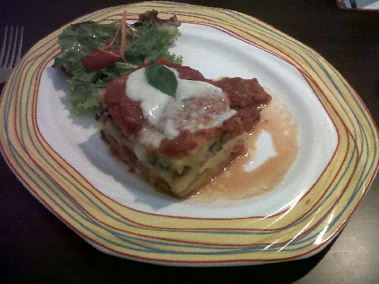 Tuscana Pizzeria : Delicious main course with polenta