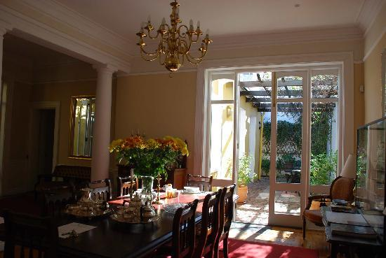 Tintagel Guesthouse: The Dining Room