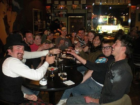 Brick Cellar : Celebrating!