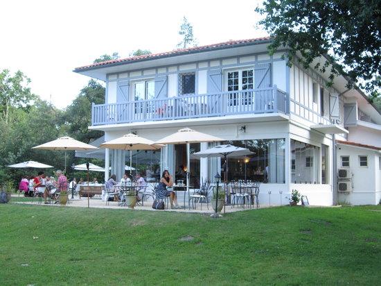 Villa de l 39 etang blanc seignosse restaurant bewertungen for Villas de jardin seychelles tripadvisor