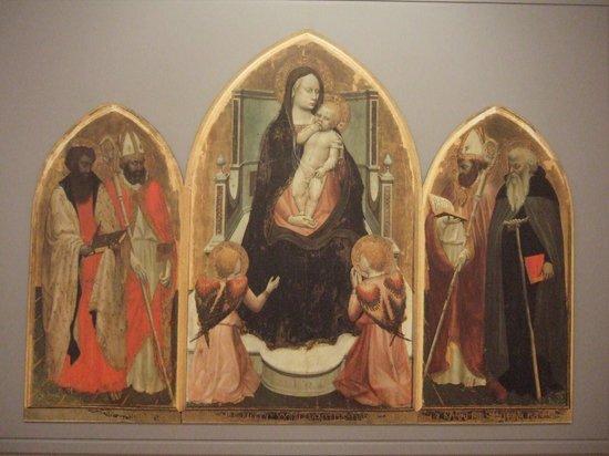 Reggello, Italia: マザッチョの「サン・ジョヴェナーレ三連祭壇画」