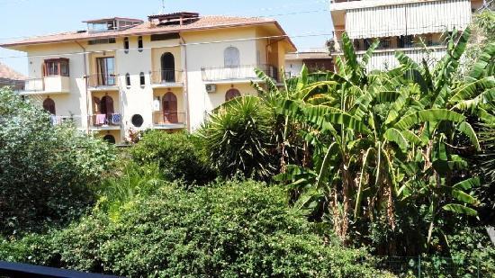 هوتل سان جيوفاني: vue du balcon