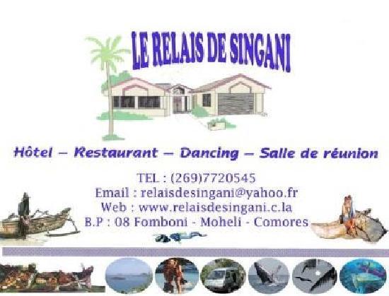 Fomboni, Komoren: Le Relais de singani Hotel