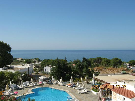 Eleni Apartments: View from balcony