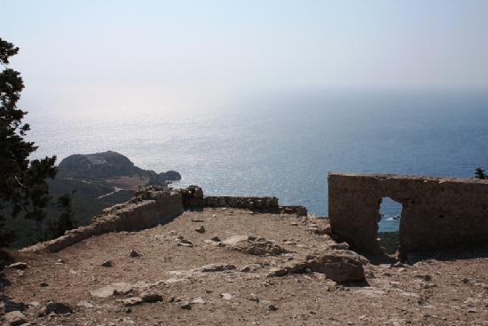 Rhodos, Griechenland: Panorama dal castello