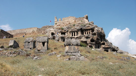 Fethiye, Turquía: tlos view