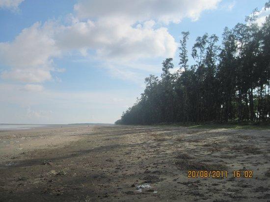 Ganjam, Indien: beach