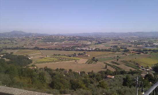 Relais La Corte di Bettona: Uitzicht vanuit het hotel