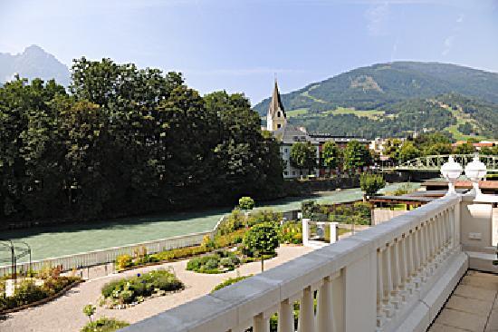 Grand Hotel Lienz: Aussichicht Seminarraum