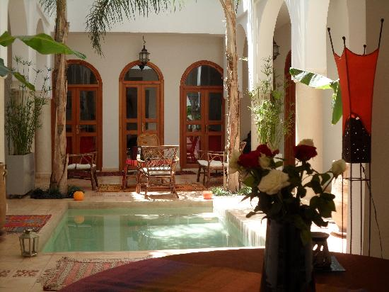 Riad Mariana : Patio- piscine