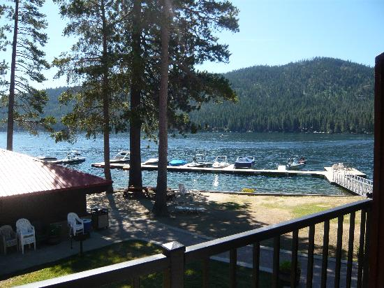 Donner Lake Village: View from room 242