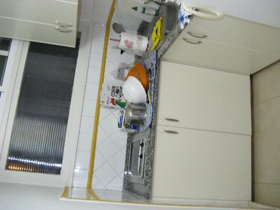 El Capricho Apartamentos : Kitchen