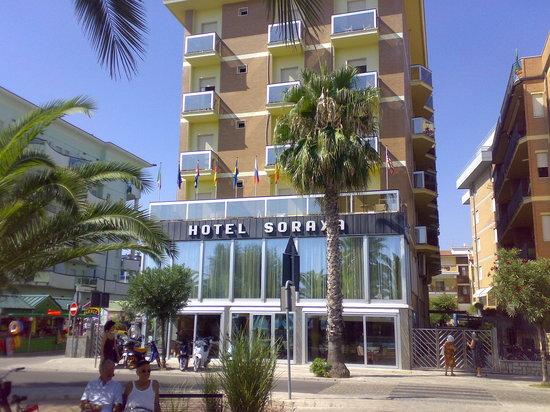 Fronte Hotel Picture Of Hotel Soraya San Benedetto Del Tronto Tripadvisor