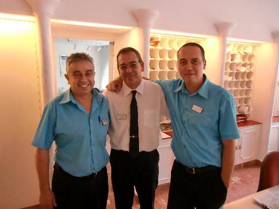 OCÉANO Hotel Health Spa: Hochsymphatische Rezeptionisten