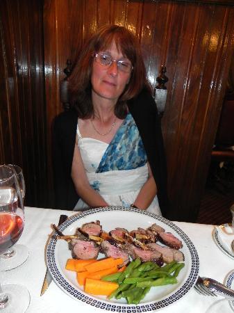 Titanic Restaurant: My Wife chose the lamb