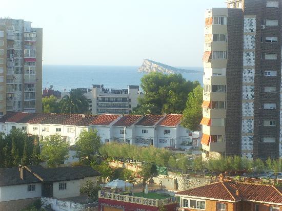 Cabana Hotel: View from balconey