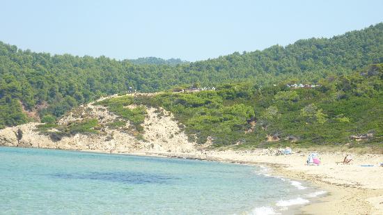 Villa Christina: Elias beach in mid august
