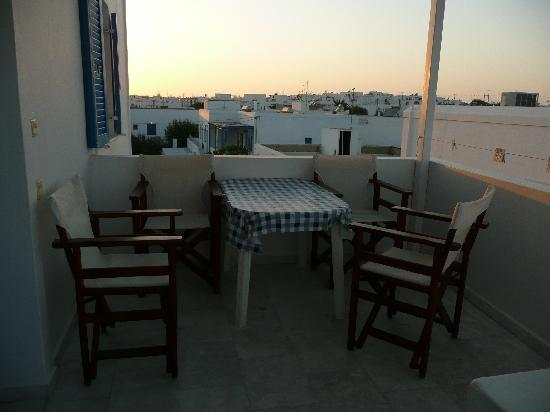 Marianos Apartments: our terrace