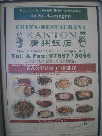 China Restaurant Kanton: Angebote
