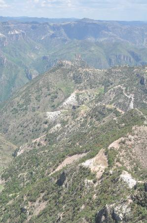 Teleferico Barrancas: View from the top