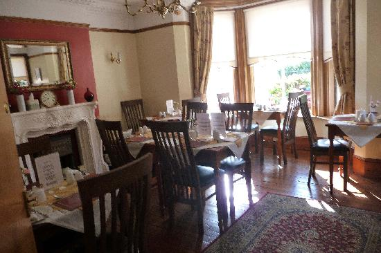 South Park Guest House: Dining room