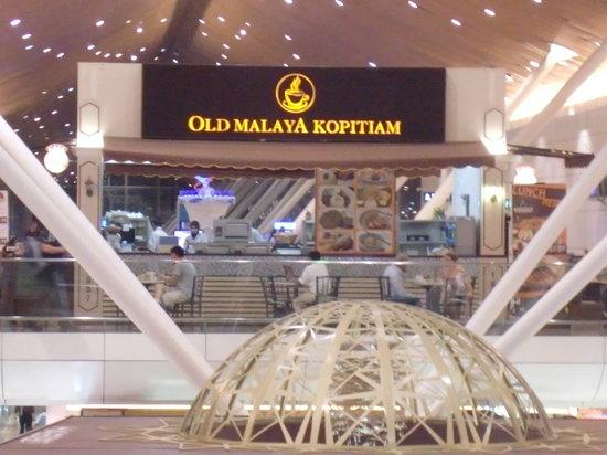 Old malaya Kopitiam@Kuala lumpur airport