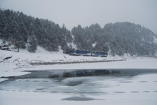 Hotel Husa Vall De Nuria: Gran  nevada