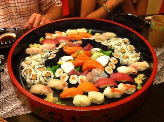 Wasabi: sushi sashimi per 4